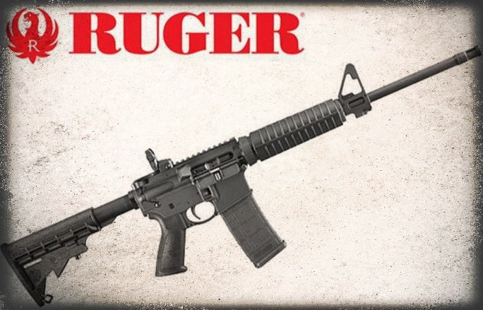 Ruger-556 rifle