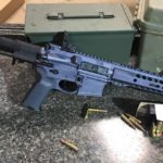 Custom Stealth Grey AR Pistol in 300 Blackout