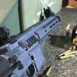 Custom Stealth Grey AR Pistol in 300 Blackout