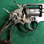 unrestored revolver